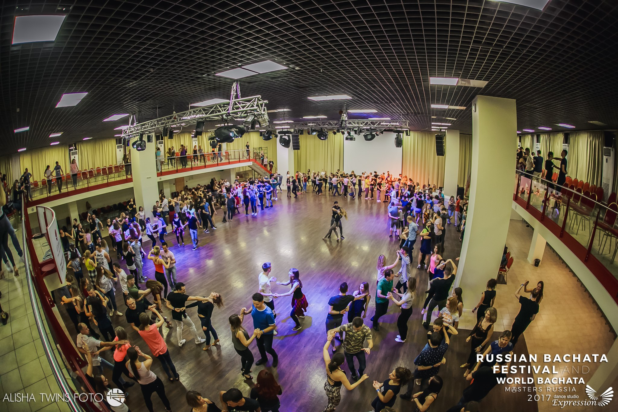 workshops on Russian Bachata Festival